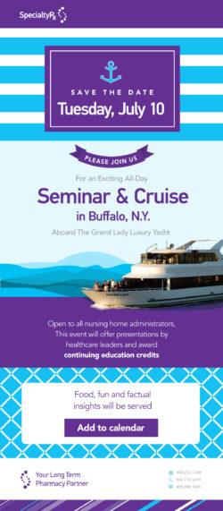 Seminar & Cruise in Buffalo, N.Y.